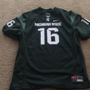 Youth boys Nike Michigan state jersey